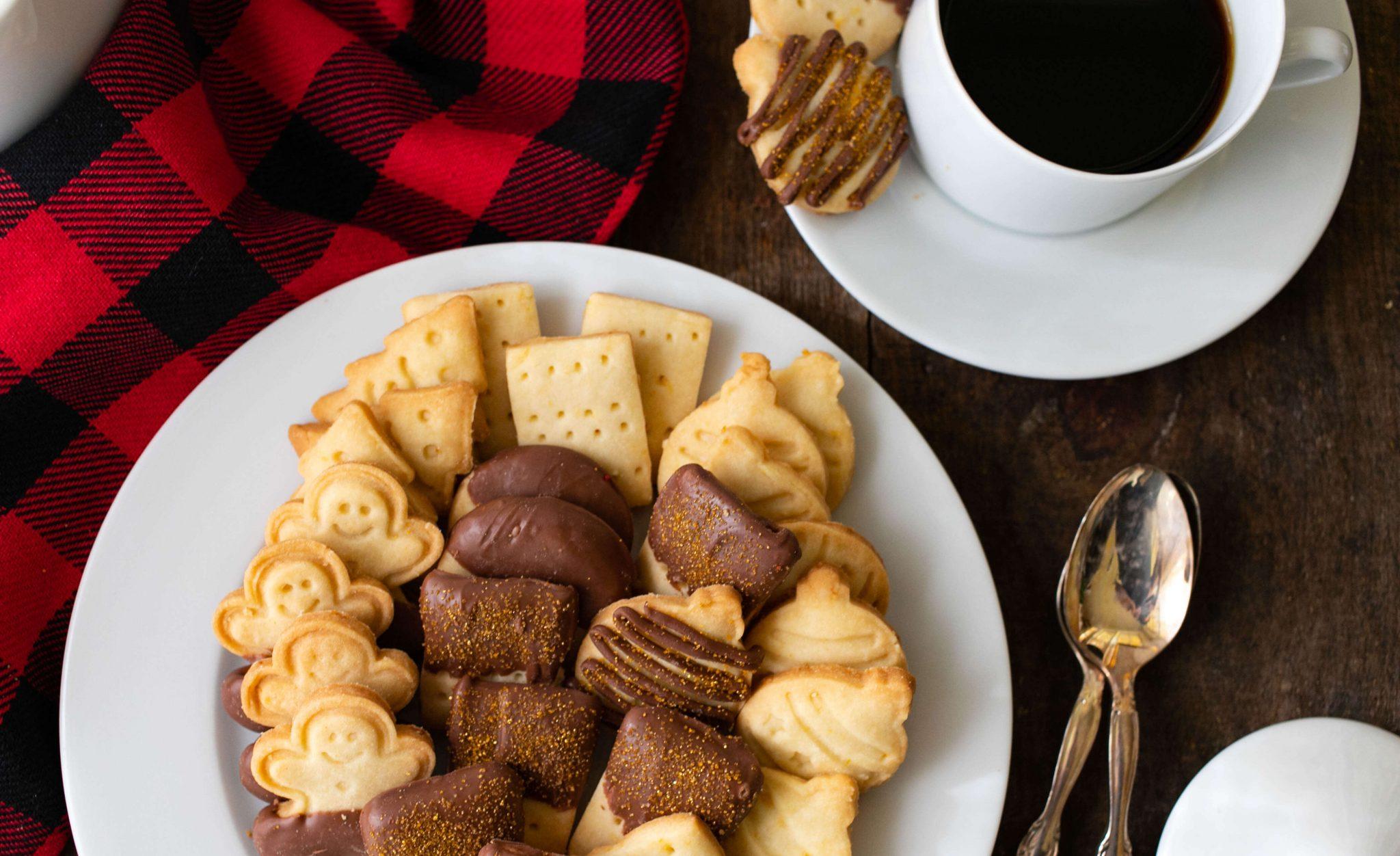 Citrus Shortbread Cookies